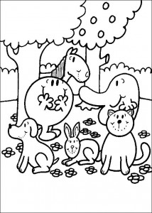 coloring page Mr Men and Litltle Miss (13)