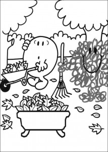coloring page Mr Men and Litltle Miss (2)