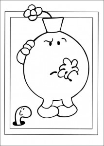 coloring page Mr Men and Litltle Miss (24)
