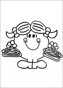 coloring page Mr Men and Litltle Miss (49)