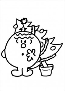 coloring page Mr Men and Litltle Miss (55)