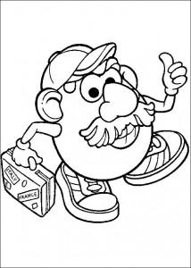 boyama sayfası Patates Kafa (12)