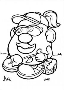 boyama sayfası Patates Kafa (26)