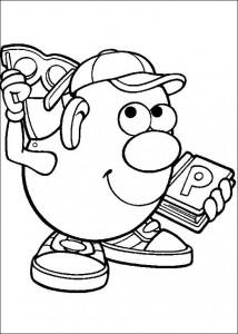 boyama sayfası Patates Kafa (38)
