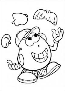 boyama sayfası Patates Kafa (39)