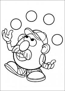 boyama sayfası Patates Kafa (40)