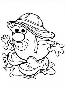 boyama sayfası Patates Kafa (41)