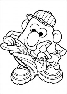 boyama sayfası Patates Kafa (5)