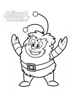 MrGlitters coloring page