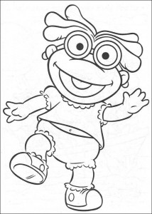 coloring page Muppet babies (2)