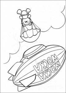 coloring page Muppet babies