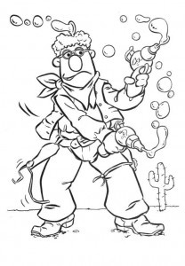 coloring page Muppets Speciaal