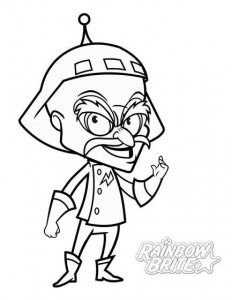 coloring page murky