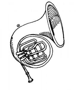 målarbok Musikinstrument (1)