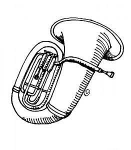 målarbok Musikinstrument (2)