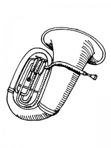 coloring page Musical instruments (1)