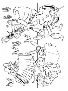 coloring page Musical instruments (2)
