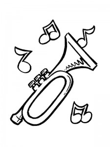 coloring page Musical instruments (3)