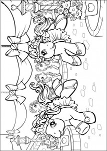 målarbok My Little Pony (1)