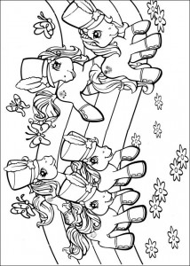 målarbok My Little Pony (11)