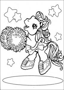 målarbok My Little Pony (15)