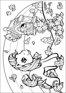 målarbok My Little Pony (28)