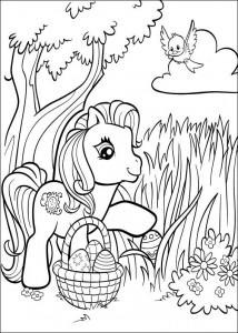 målarbok My Little Pony (38)