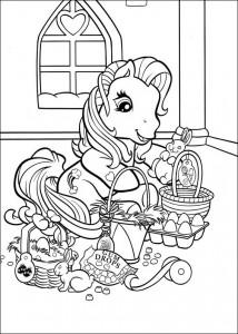 målarbok My Little Pony (39)