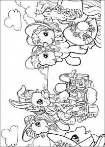 målarbok My Little Pony (41)