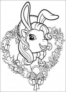 målarbok My Little Pony (43)