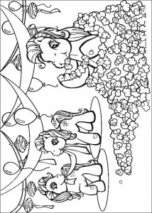 målarbok My Little Pony (44)