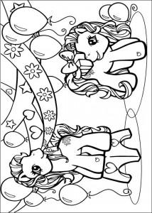 målarbok My Little Pony (47)