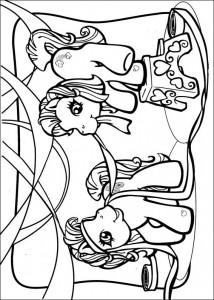 målarbok My Little Pony (48)