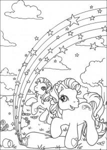 målarbok My Little Pony (5)