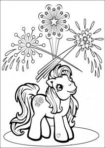 målarbok My Little Pony (54)