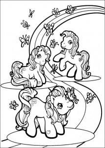 målarbok My Little Pony (55)