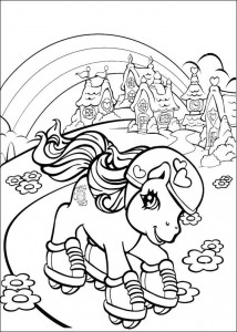 målarbok My Little Pony (7)