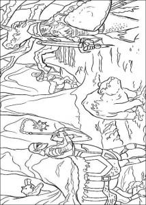 målarbok Narnia 2