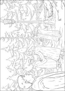 målarbok Narnia