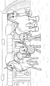 kleurplaat nella de prinses 3