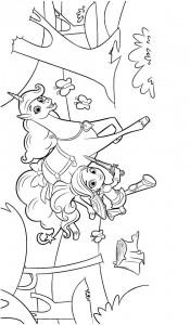 kleurplaat nella de prinses 7