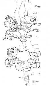 kleurplaat nella de prinses 9