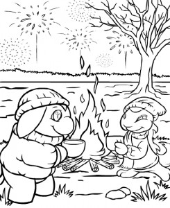 coloring page Neopets Brightvale (15)