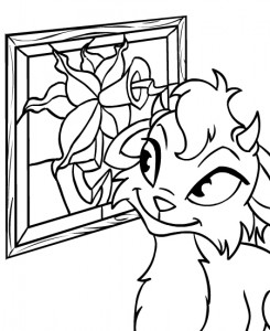 coloring page Neopets Brightvale (17)