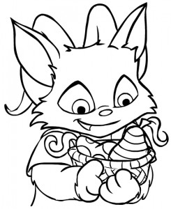 coloring page Neopets Brightvale (18)