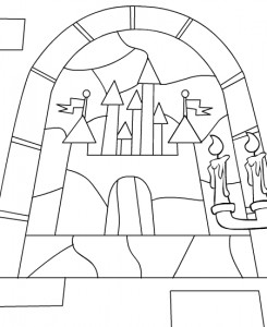 coloring page Neopets Brightvale (3)
