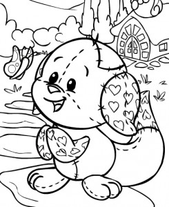 coloring page Neopets Brightvale (6)