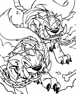 coloring page Neopets Feeenland (1)
