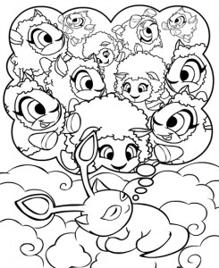 coloring page Neopets Feeenland (10)