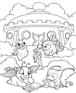 coloring page Neopets Feeenland (12)